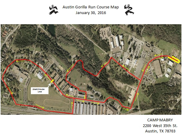 AGR 2016 Course Map