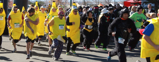New this year…GO BANANAS! Limited quantity of banana suits available – sign up today. Banana suits are adult, one size fits all. Only $60 (includes banana suit…yours to keep)!